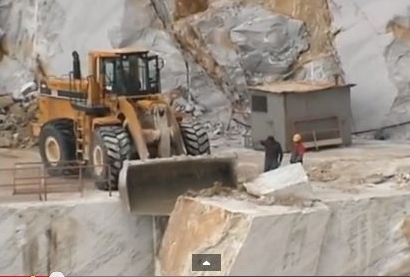 In the quarries, where it all begins